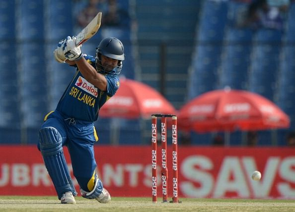 Kumar Sangakkara becomes only the fourth player ever to go past 13000-run mark in ODIs