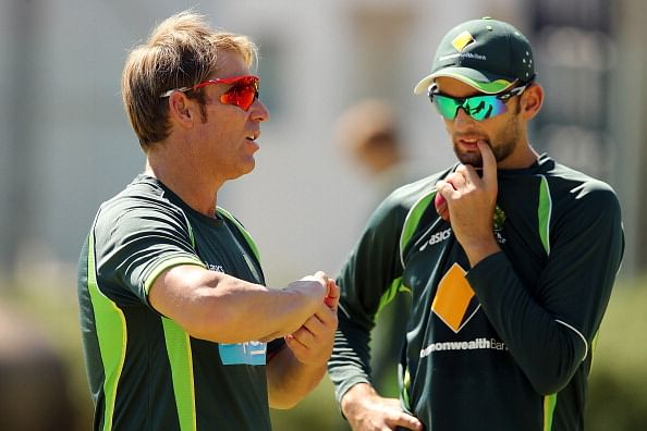 Shane Warne pleased with Nathan Lyon's performance in the first Test against India