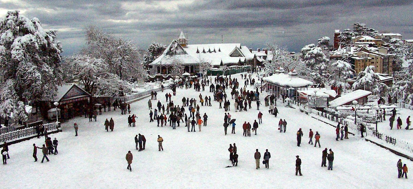 Record snow turns Himachal into skiers' paradise