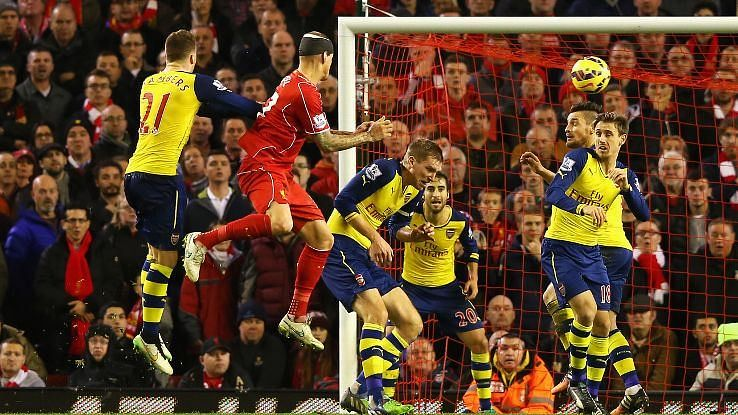 Liverpool vs Arsenal – Player Ratings