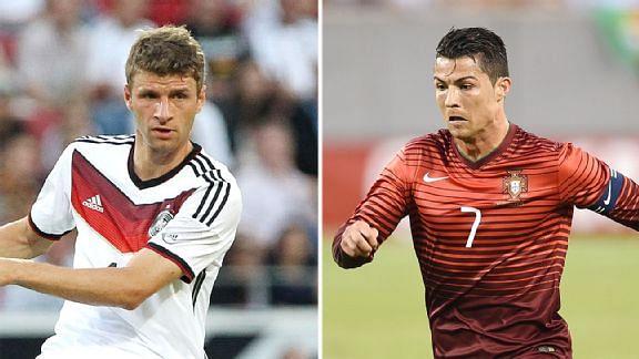 Thomas Muller: Cristiano Ronaldo winning Ballon d'Or will almost be