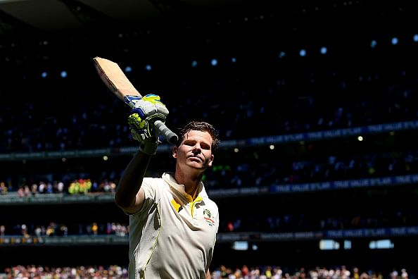 Australia vs India 2014/15 - 3rd Test, Day 2, Tea: Steven Smith leads Australia to massive first innings total