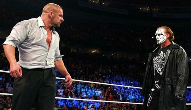 Triple H 'coy' about a match against Sting