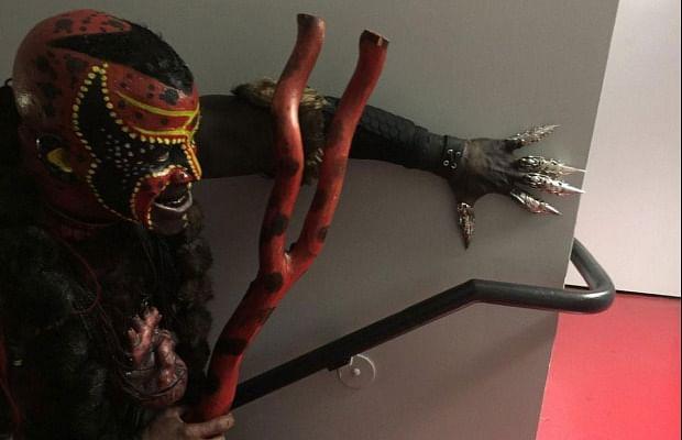Photo: The Boogeyman backstage at Raw