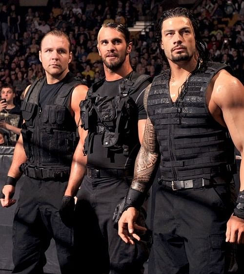 wwe goes big with it 39 s exclusive dvd on 39 the shield 39. Black Bedroom Furniture Sets. Home Design Ideas