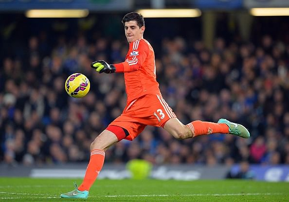 Chelsea's Courtois voted as Belgian's Sportsman of the year, beats Hazard in the race