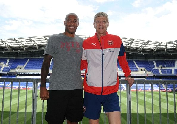 Thierry Henry one of best footballers ever: Arsenal coach Wenger
