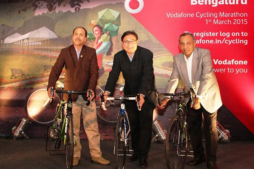 The Vodafone Bengaluru cycling marathon is back