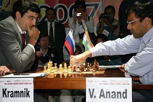 Vishwanathan Anand and Vladimir Kramnik draw at London Chess Classic