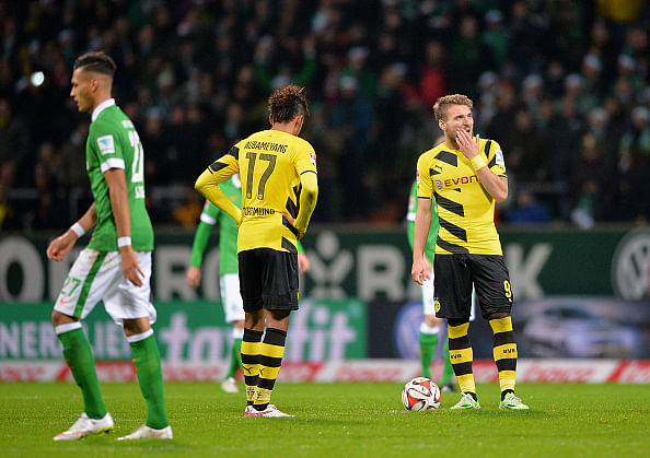 Wolfsburg win, Bremen upset Dortmund in Bundesliga