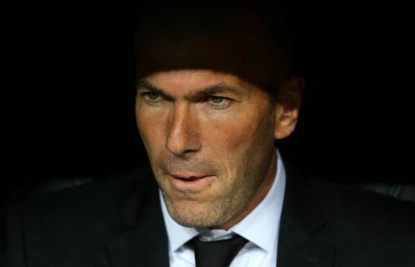 EPL managerial job interests Zinedine Zidane