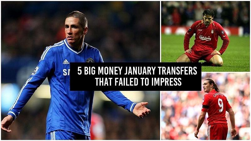 5 big money January transfers that failed to impress