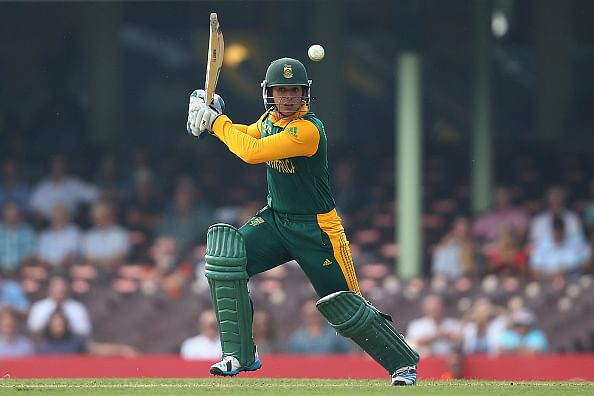 Quinton de Kock makes early return from injury