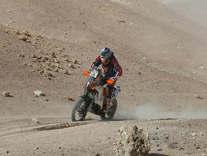 CS Santosh becomes first Indian to complete Dakar Rally