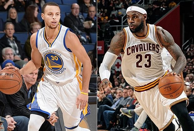 LeBron James and Stephen Curry still atop in second All-Star voting return