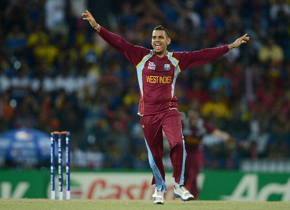 Sunil Narine out of West Indies squad for World Cup