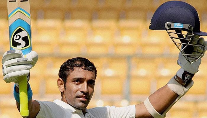 Ranji Trophy: Robin Uthappa ton puts Karnataka on top against Jammu and Kashmir