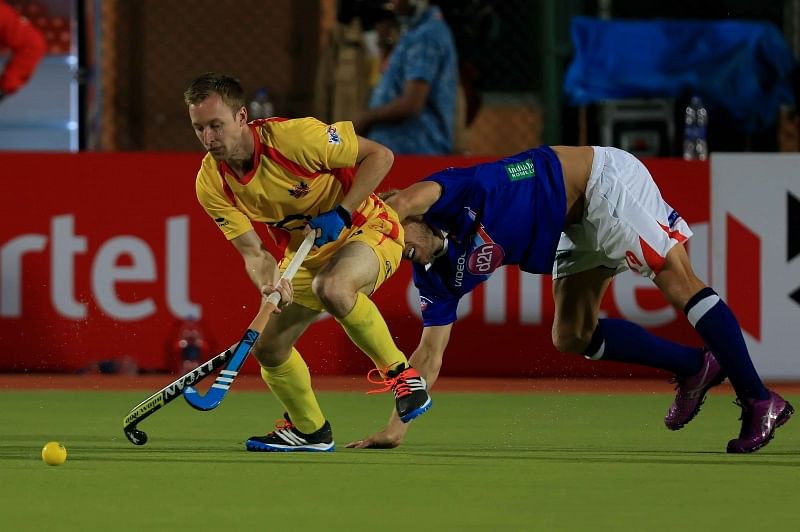 HIL 2015: Ranchi Rays draw against Dabang Mumbai in a pulsating match