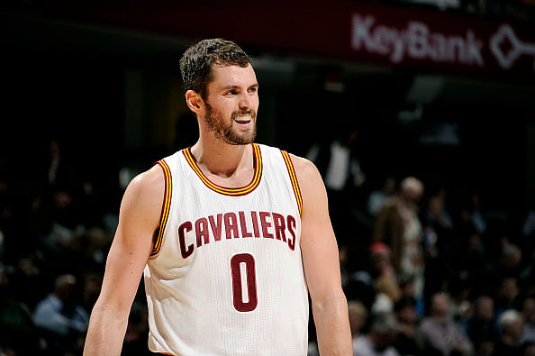 Kevin Love's defense hindering his versatility from helping the Cleveland Cavaliers