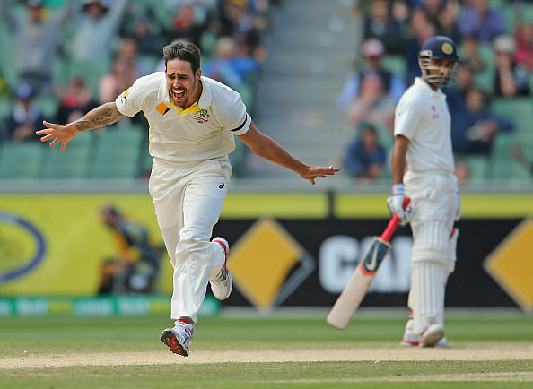 Mitchell Johnson ruled out of 4th Test with hamstring injury