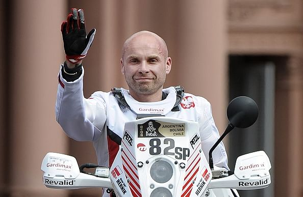 Polish motorcyclist Michal Hernik dies in Dakar Rally