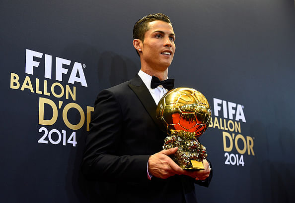 Top Twitter reactions to Cristiano Ronaldo being awarded the 2014 Ballon d'Or