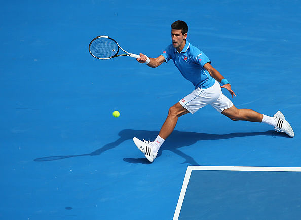 Novak Djokovic progresses to second round with a straight sets win over Aljaz Bedene