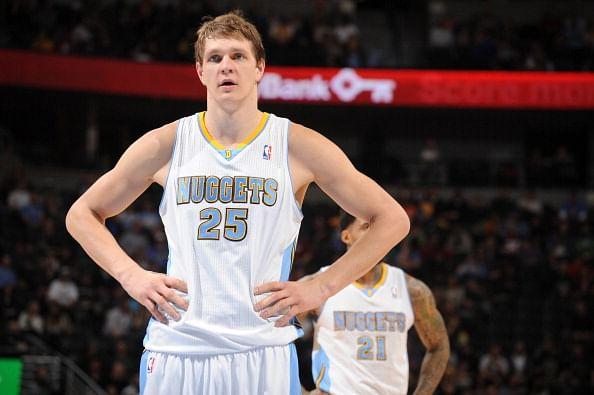 Cleveland Cavaliers trade couple of draft picks for Denver Nuggets center Timofey Mozgov