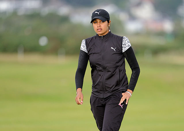 Kiran Matharu leads in Hero women's golf