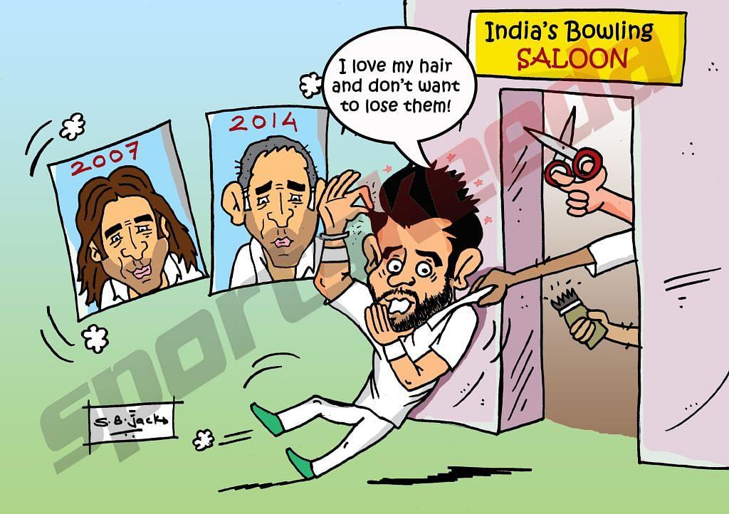 Comic: Virat Kohli's hair concern