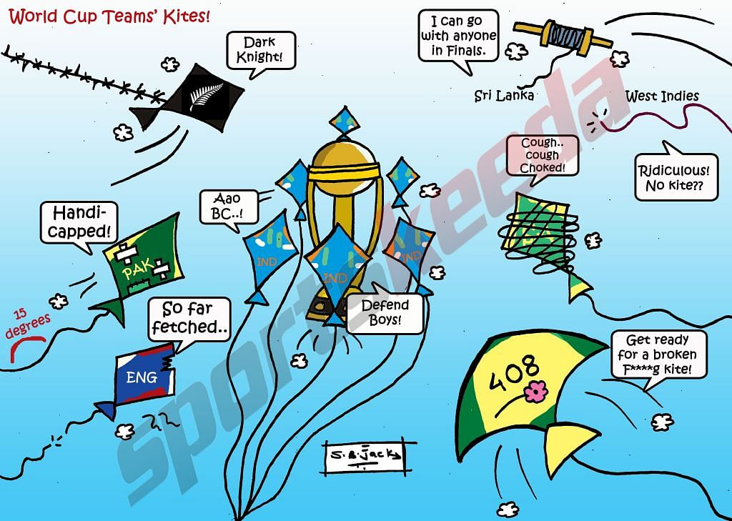 Comic: If cricket teams were kites!