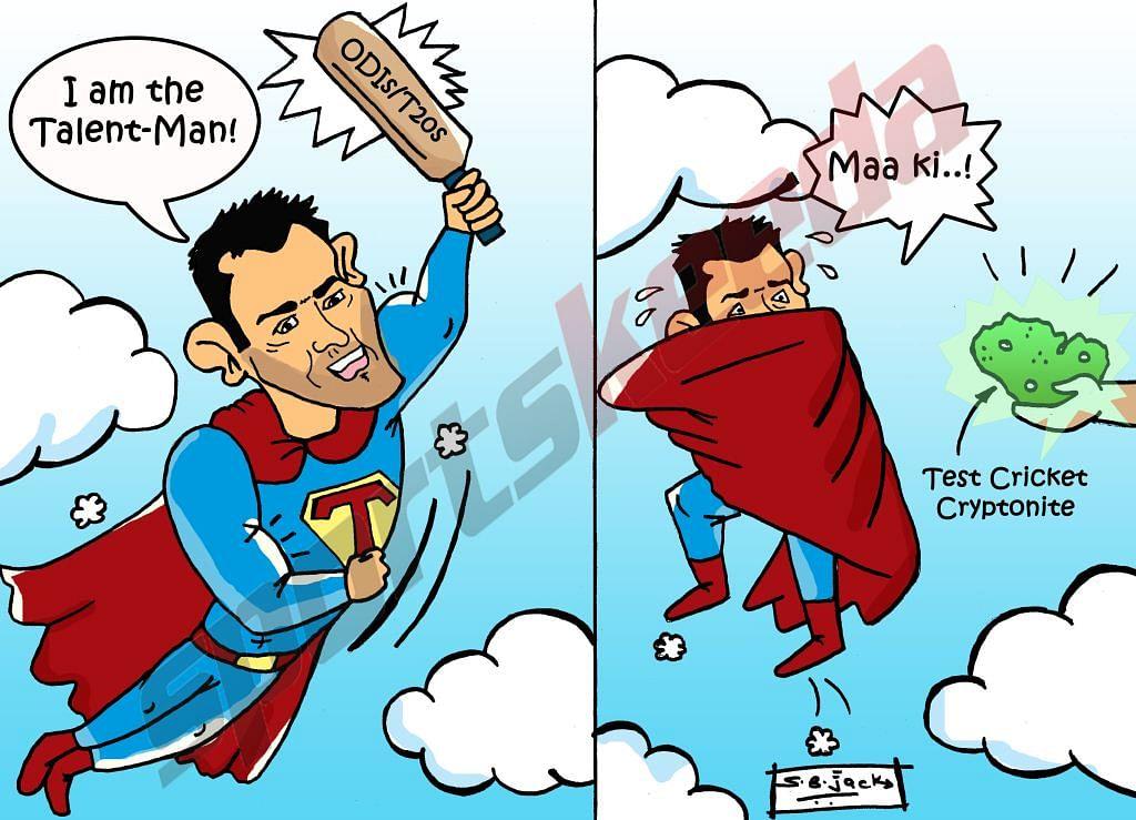 Comic: Rohit Sharma - The Talent Man