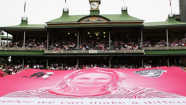 SCG to turn pink on Day 3 in honour of Jane Mcgrath