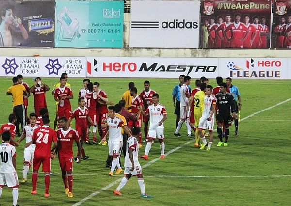 I-League: Pune FC climbs to second spot as Shillong Lajong are brushed aside