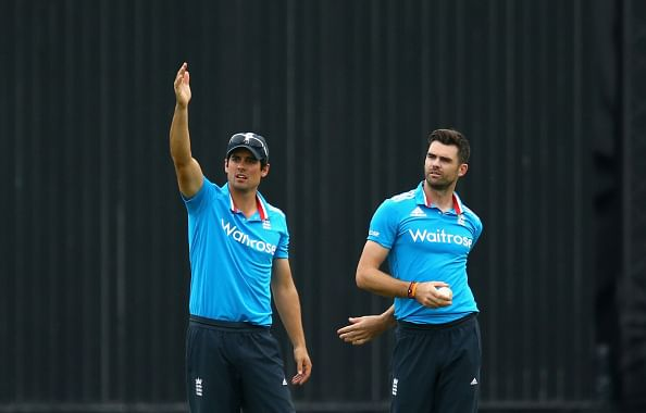 James Anderson: Alastair Cook shattered after being dropped from ODI side