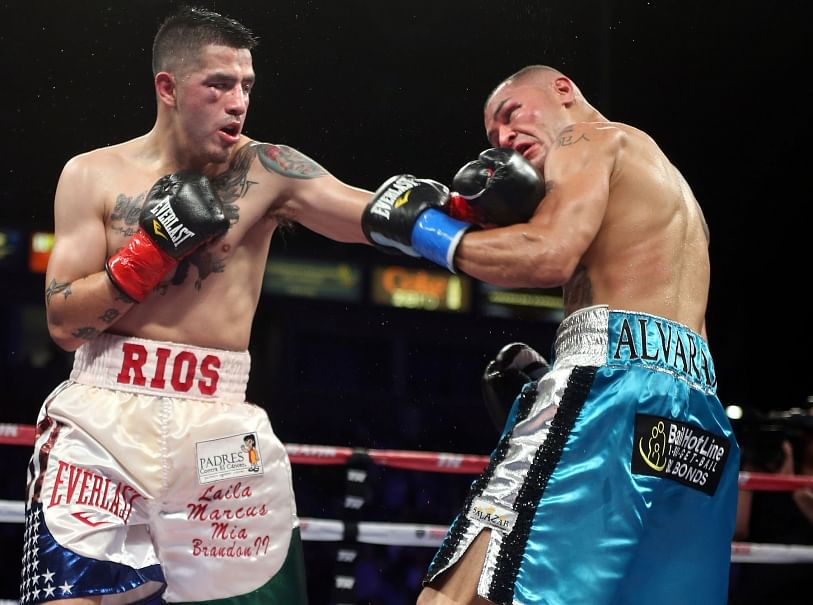 Brandon Rios dominates Mike Alvarado in the third fight between the two boxers