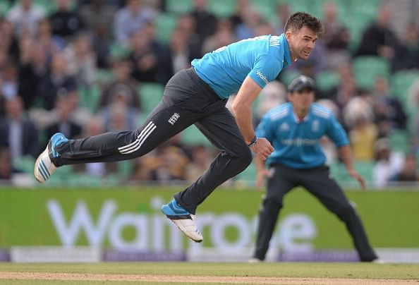 James Anderson in line to make comeback from injury against India