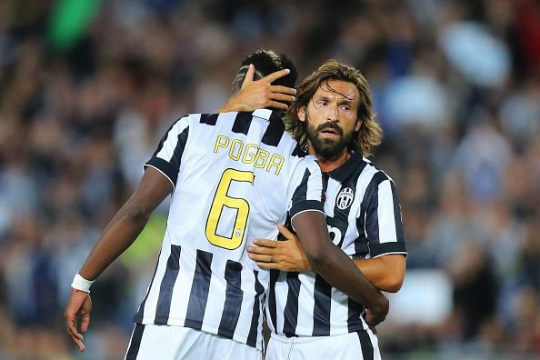 Pogba will never return to Manchester United, insists teammate Andrea Pirlo