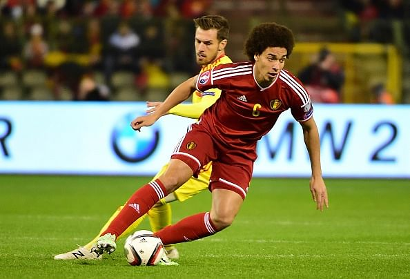 Axel Witsel reveals that he has been a fan of Manchester United since childhood
