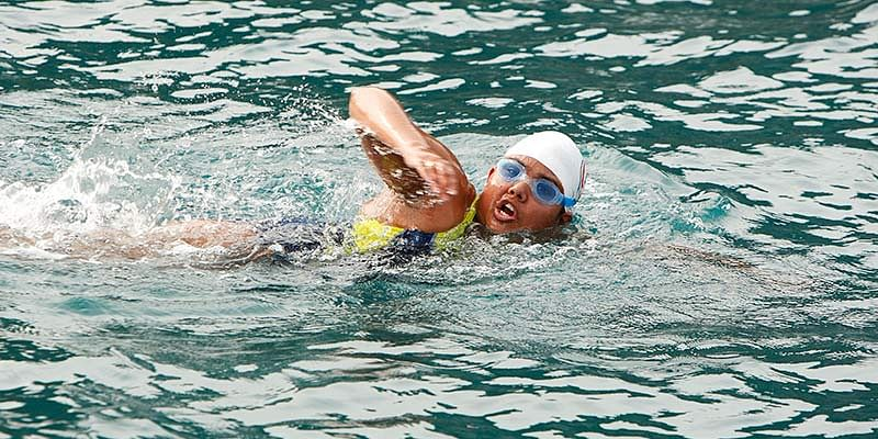 Indian swimmer Bhakti Sharma sets world record in Antarctic Ocean