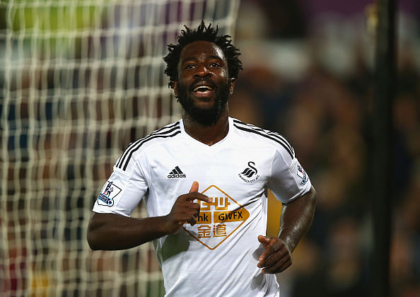 Wilfried Bony completes Manchester City switch from Swansea