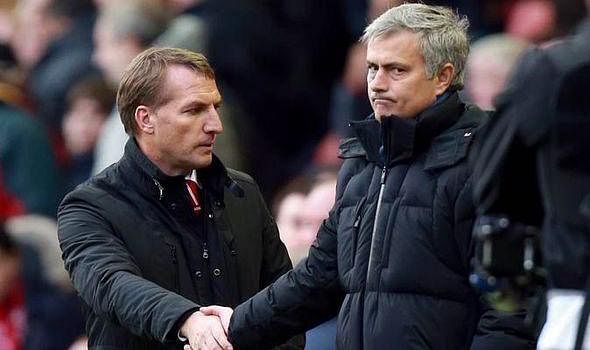 Brendan Rodgers hints on strained relationship with Jose Mourinho