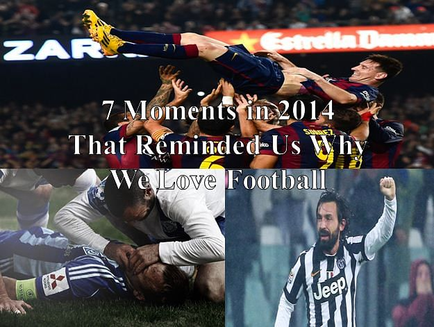 7 moments in 2014 that reminded us why we love football