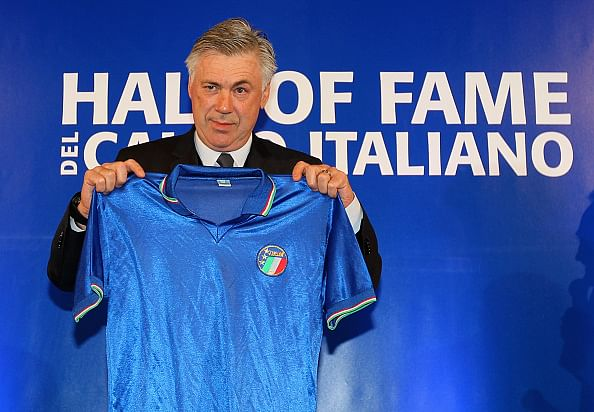Carlo Ancelotti and Diego Maradona inducted into Italian Hall of Fame