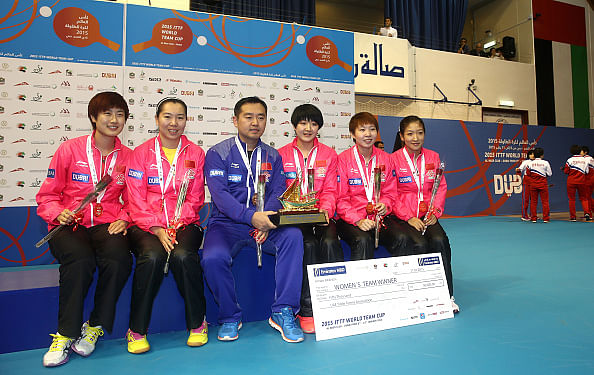 China sweep Team Table Tennis World Cup crowns