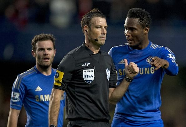 Controversial referee Mark Clattenburg to officiate Chelsea-Man City match at the weekend