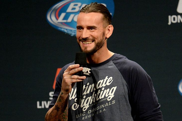 Big news on the UFC debut of CM Punk, first opponent