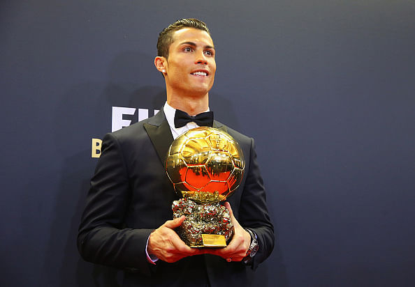 Cristiano Ronaldo named the greatest Portuguese player of all time