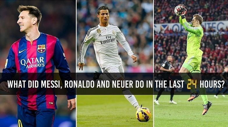 (Humour) FIFA Ballon d'Or: Spying into the lives of Messi, Ronaldo and Neuer ahead of the event