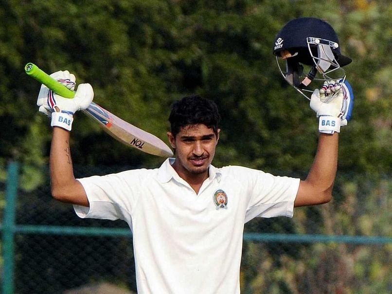 Deepak Hooda's century lifts Baroda against Karnataka in the Ranji Trophy